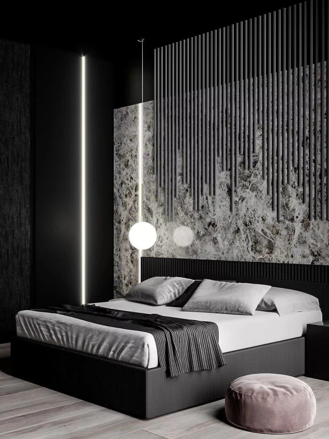 极简至纯,高级黑公寓设计! 